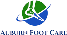 logo for auburn foot care center