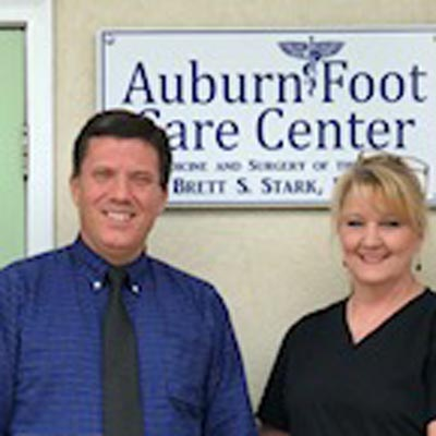 meet the auburn foot care center team
