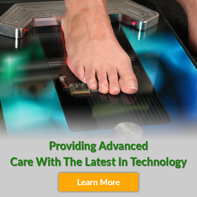 advanced technology for foot and ankle care