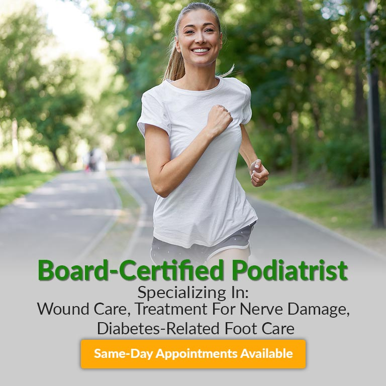 board-certified podiatrist